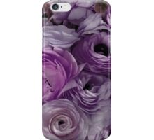 Flowers for Ellie - Purple iPhone Case/Skin