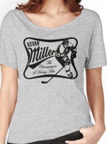 Kevan Miller Time (Bruins) - Fanned Shots Sports Apparel Women's Relaxed Fit T-Shirt