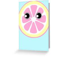 Citrus Slice Greeting Card