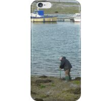 Digging For Worms_Gosport_Hampshire_England iPhone Case/Skin