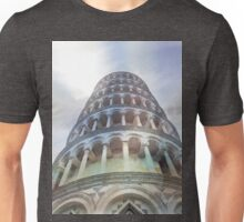 Pisa tower watercolor Unisex T-Shirt