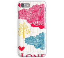 London Romantic 578 iPhone Case/Skin