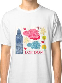 London Romantic 2 Classic T-Shirt