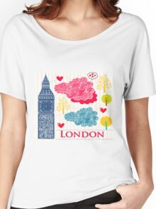 London Romantic 2 Women's Relaxed Fit T-Shirt
