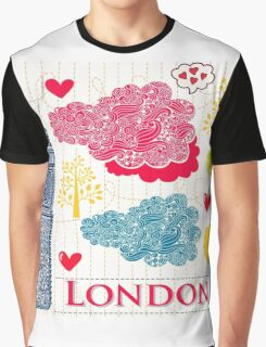 London Romantic 2 Graphic T-Shirt