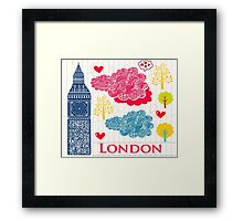 London Romantic 2 Framed Print