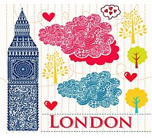 London Romantic 578 Photographic Print