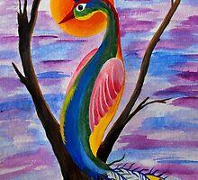 Solitary Bird by Kayleigh Walmsley