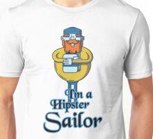 Hipster Sailor Unisex T-Shirt