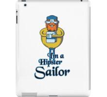 Hipster Sailor iPad Case/Skin
