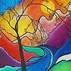 The River by Lesli Pringle-Burke by Studio Burke