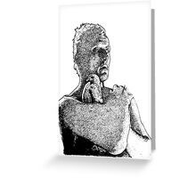 Roy Batty- Blade Runner - Dot Greeting Card
