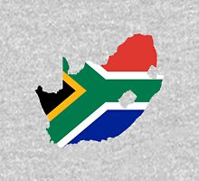 South Africa Flag Map Unisex T-Shirt