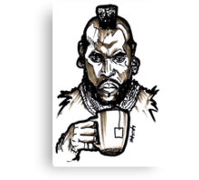 Mr Tea T Canvas Print
