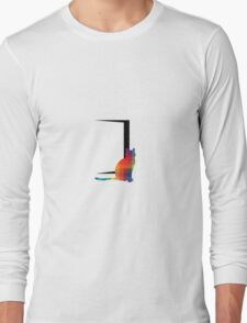 Lonely Cat Long Sleeve T-Shirt