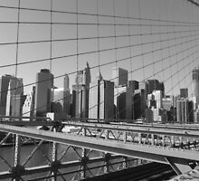 New York from the Bridge by Sohvi
