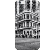 City of Perth - lunch rush hour iPhone Case/Skin