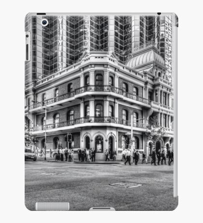City of Perth - lunch rush hour iPad Case/Skin