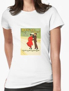 Vintage Fashion Shoe Advertising 1910 Womens Fitted T-Shirt