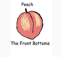 Peach  front bottoms Unisex T-Shirt