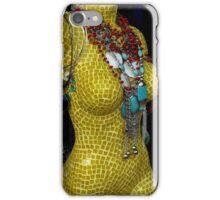 Yellow Figure  iPhone Case/Skin