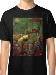 Chair still life by Vincent Van Gogh Classic T-Shirt