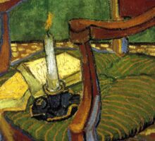 Chair still life by Vincent Van Gogh Sticker