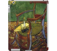 Chair still life by Vincent Van Gogh iPad Case/Skin