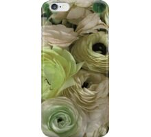 Flowers for Ellie - Pastel Green iPhone Case/Skin