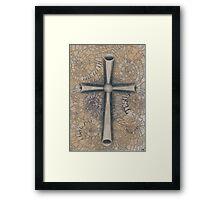 Sacred Cross Framed Print