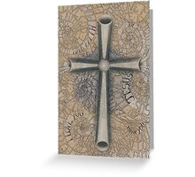 Sacred Cross Greeting Card