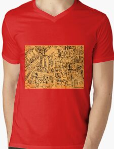 Mr London Mens V-Neck T-Shirt
