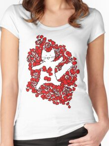 American Fluffy Women's Fitted Scoop T-Shirt