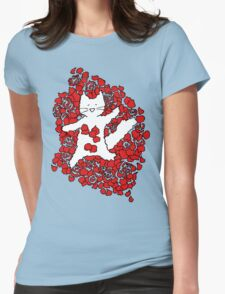 American Fluffy Womens Fitted T-Shirt