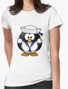 Penguin Sailor Womens Fitted T-Shirt