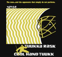 Cool Hand Tuukk (Tuukka Rask) Bruins - Fanned Shots Sports Apparel by Sofos