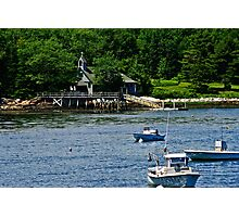 Float In Religion, Maine Coast Photographic Print