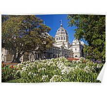 Royal Exhibition Building - Garden View Poster