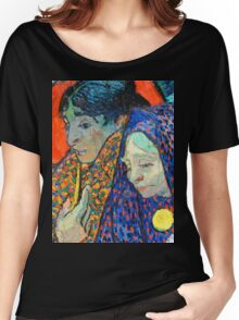 Memory of the Garden at Etten by Van Gogh Women's Relaxed Fit T-Shirt