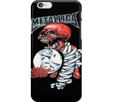 Metallica, madly inanger with world iPhone Case/Skin