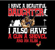 Hillbilly - I Have A Beautiful Daughter Black Variant Photographic Print