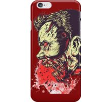 Blood zombie iPhone Case/Skin
