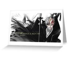 bleach-kukosaki ichigo Greeting Card