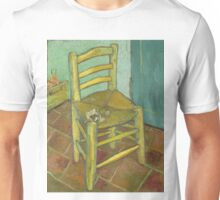 Chair still life by Vincent Van Gogh Unisex T-Shirt