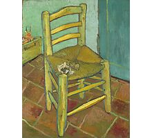Chair still life by Vincent Van Gogh Photographic Print
