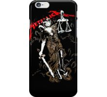 Metallica, Justice for all iPhone Case/Skin