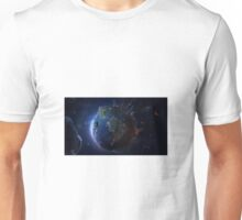 World from Space Unisex T-Shirt