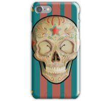 Realistic Sugar Skull iPhone Case/Skin