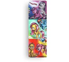My little pony - The mane five Canvas Print