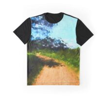 Path in a Park Graphic T-Shirt